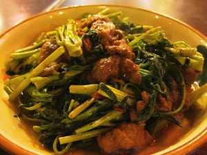 0115 馬拉盞通菜牛肉 (桃源)